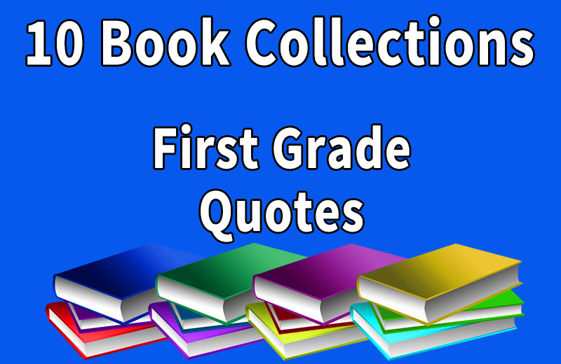 First Grade Quotes Collection: Wilbooks offers inexpensive reading ...