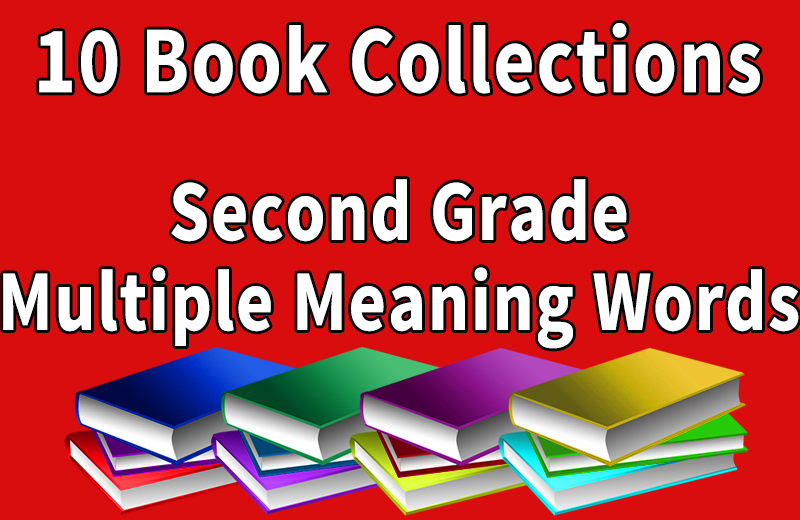 Second Grade Multiple Meaning Words Collection Wilbooks Offers