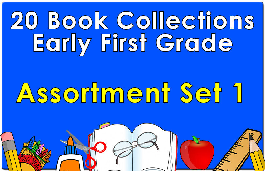 Early First Grade Reading Collection Set 1 (a 20 Book Set) - Wilbooks
