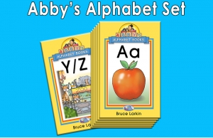 Abby's Alphabet Books Set