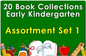 20B-Early Kindergarten Reading Collection Set 1