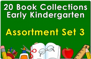 20B-Early Kindergarten Reading Collection Set 3