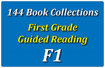 144B-First Grade Collection: Guided Reading Level F Set 1