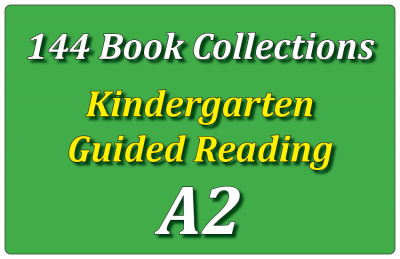 144B-Kindergarten Collection: Guided Reading Level A Set 2