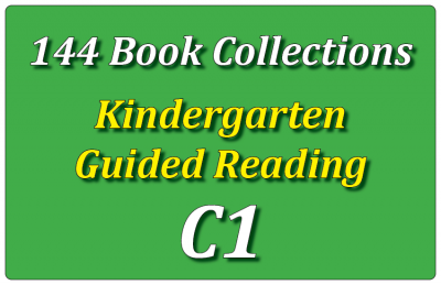 144B-Kindergarten Collection: Guided Reading Level C Set 1