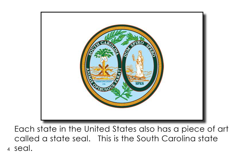 South Carolina State Symbols First Grade Book Wilbooks