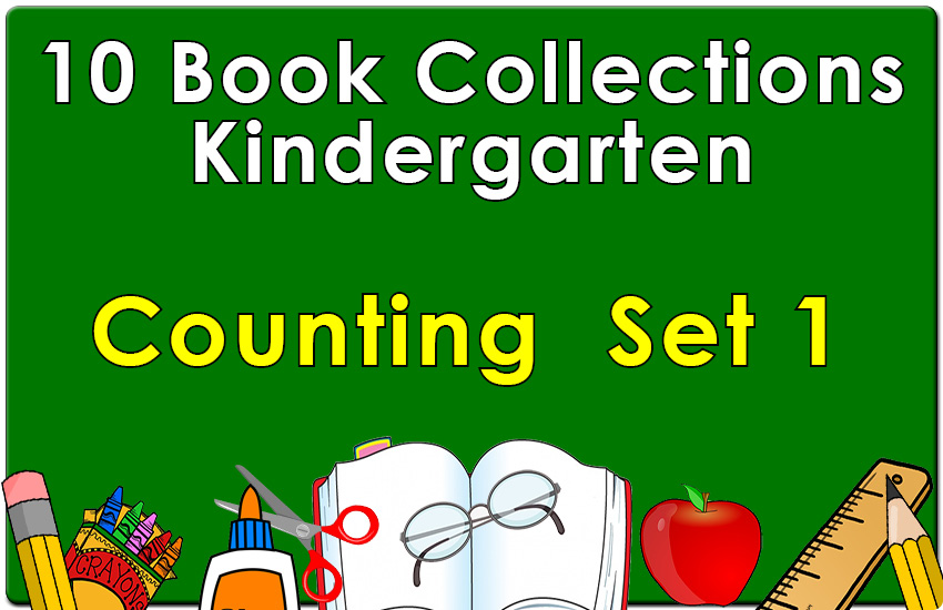 Kindergarten Counting Collection Set 1