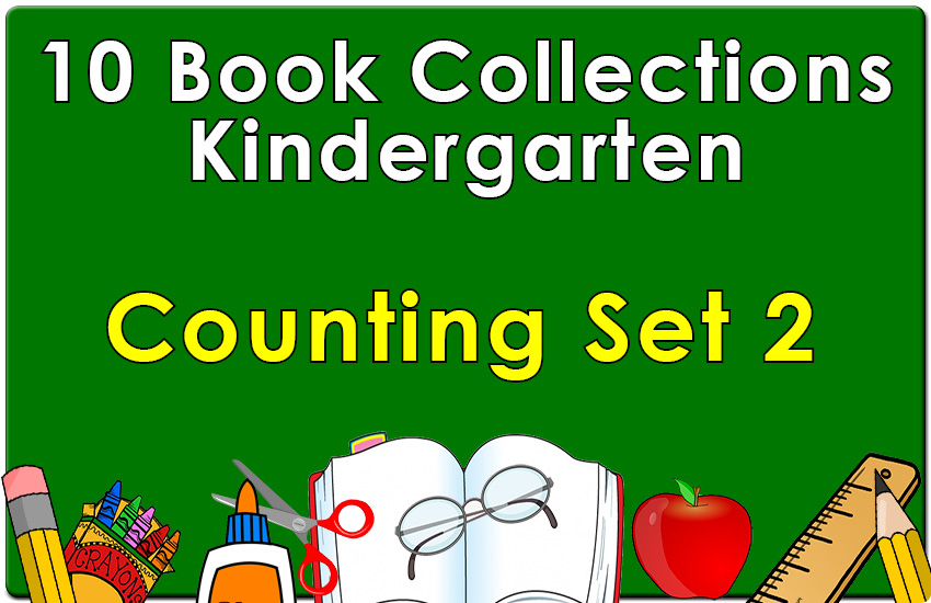 Kindergarten Counting Collection Set 2