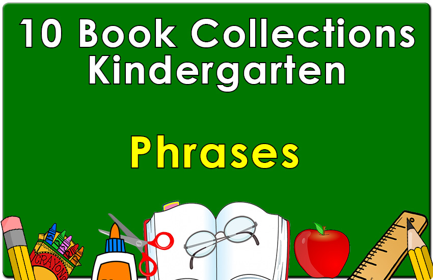 Kindergarten Prepositional Phrases Collection
