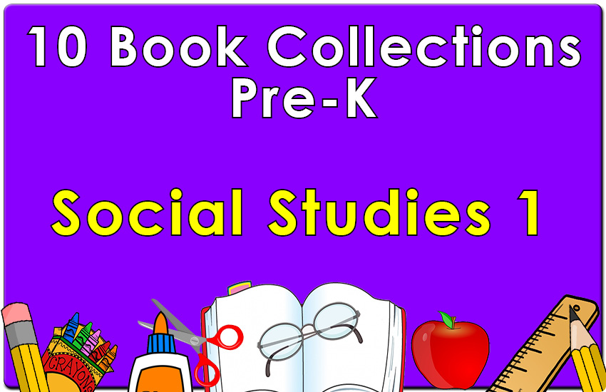 Pre-K Social Studies Collection Set 1
