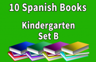 10B-SPANISH Collection Kindergarten Set B