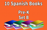 10B-SPANISH Collection Pre-K Set B