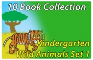Kindergarten Wild Animals Collection Set 1