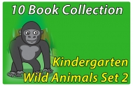 Kindergarten Wild Animals Collection Set 2