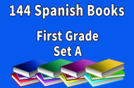 144B-SPANISH Collection First Grade Set A