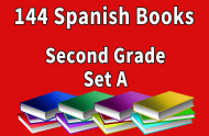 144B-SPANISH Collection Second Grade Set A