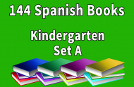 144B-SPANISH Collection Kindergarten Set A