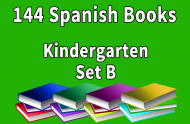 144B-SPANISH Collection Kindergarten Set B