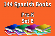 144B-SPANISH Collection Pre-K Set B