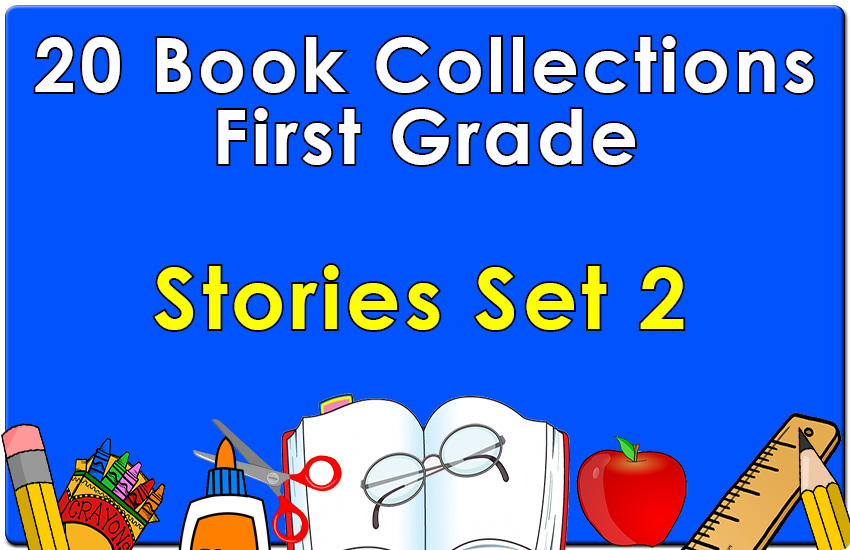 First Grade  Stories Collection Set 2