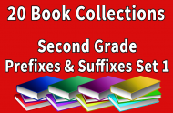 Second Grade  Prefixes and Suffixes Collection Set 1