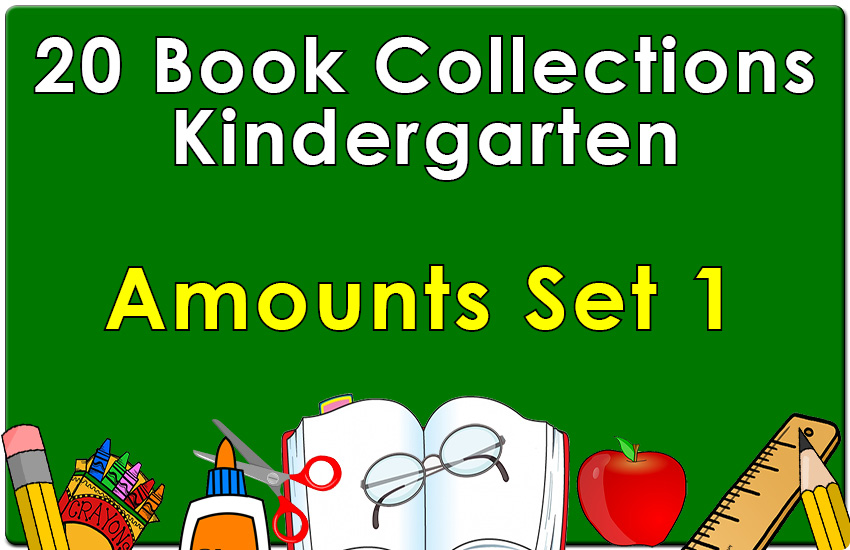 Kindergarten  Amounts Collection 1