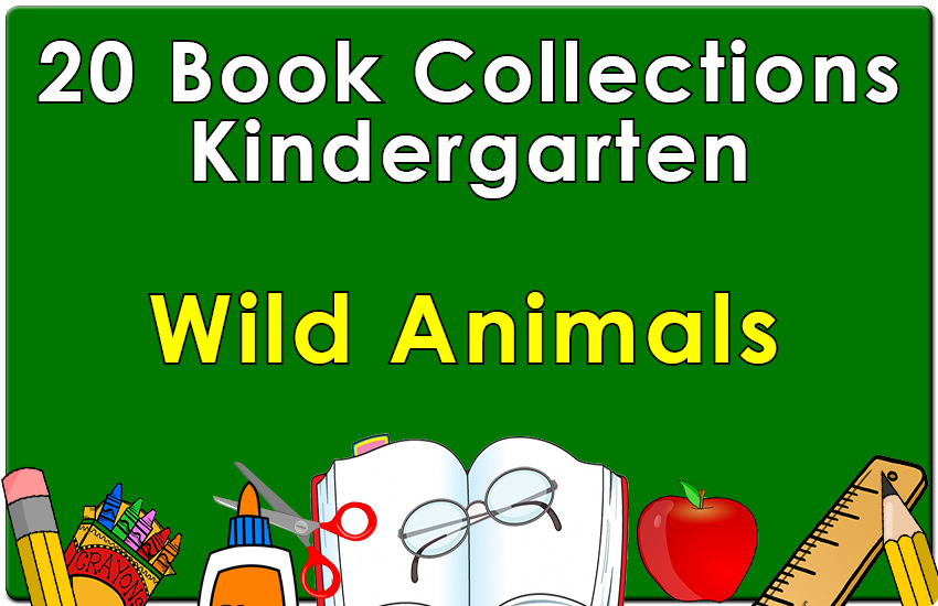 Kindergarten Wild Animals 1