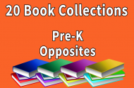 Pre-K  Opposites Collection