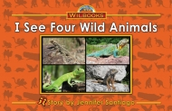 I See Four Wild Animals