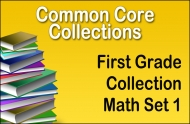 CC-First Grade Common Core Math Collection Set 1