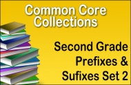 Second Grade Prefixes and Suffixes Set 2