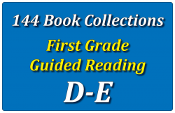144B-First Grade Collection: Guided Reading Levels D & E Set 1