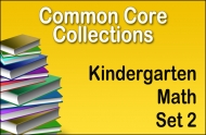 CC-Kindergarten Common Core Math Collection Set 2