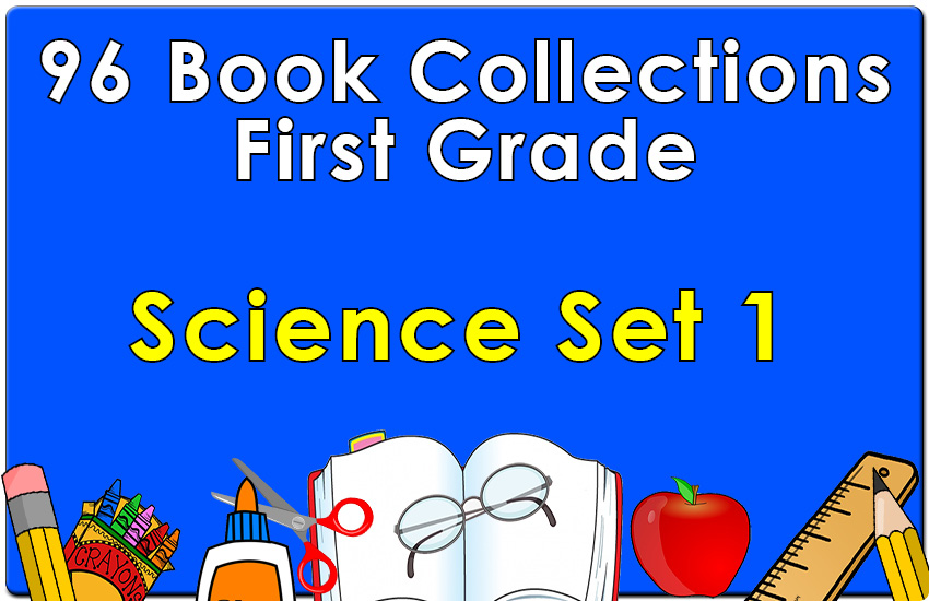 96B-First Grade Science Collection Set 1