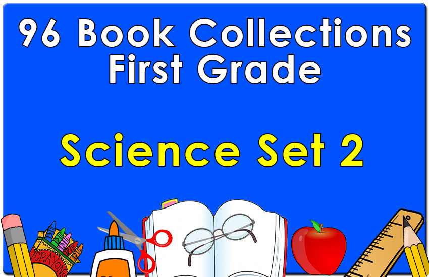 96B-First Grade Science Collection Set 2
