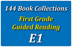 144B-First Grade Collection: Guided Reading Level E Set 1