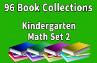 96B-Kindergarten Math Collection Set 2