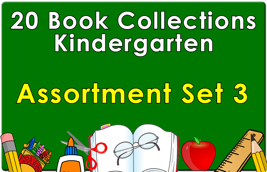 20B-Kindergarten Collection Assortment Set 3