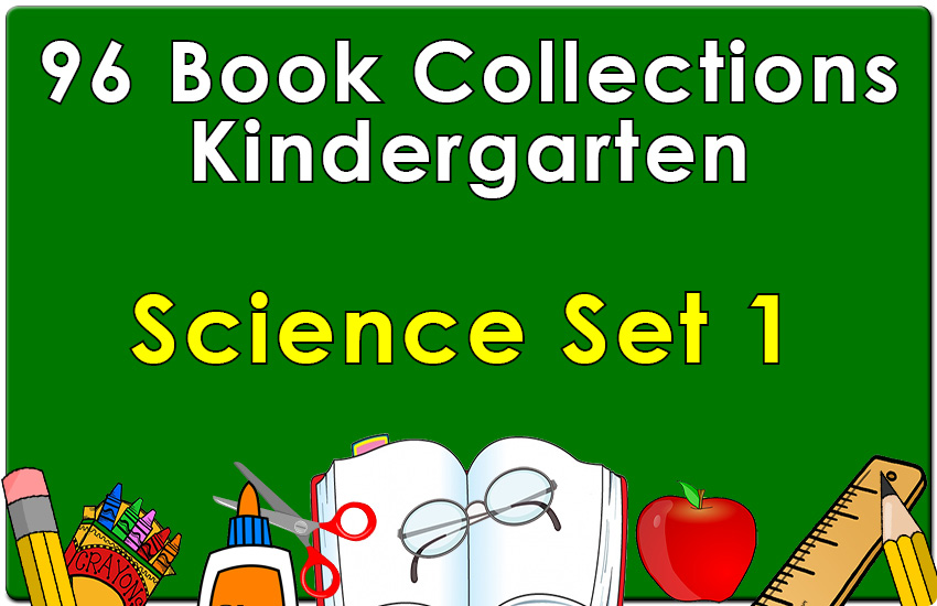 96B-Kindergarten Science Collection Set 1