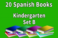 20B-SPANISH Collection Kindergarten Set B