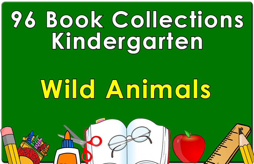 96B-Kindergarten Wild Animals Collection