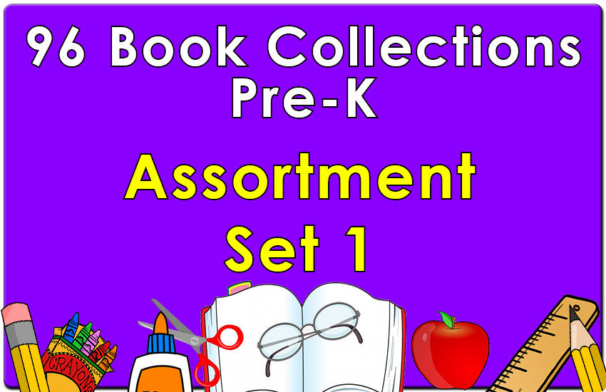 96B-Pre-K Assortment Set 1