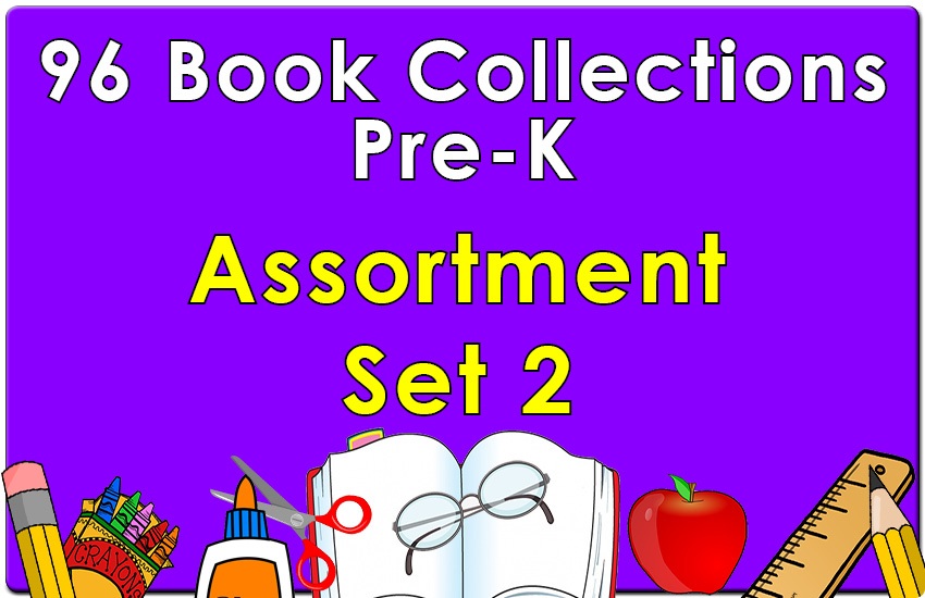 96B-Pre-K Assortment Set 2