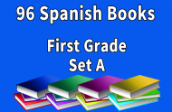 96B-SPANISH Collection First Grade Set A