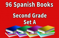 96B-SPANISH Collection Second Grade Set A
