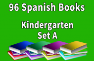 96B-SPANISH Collection Kindergarten Set A
