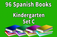 96B-SPANISH Collection Kindergarten Set C