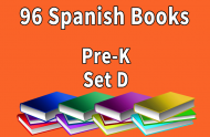 96B-SPANISH Collection Pre-K Set D