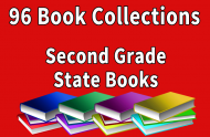 96B-Second Grade State Book Collection Set 1